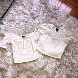 Tops - Bundle crop tops
